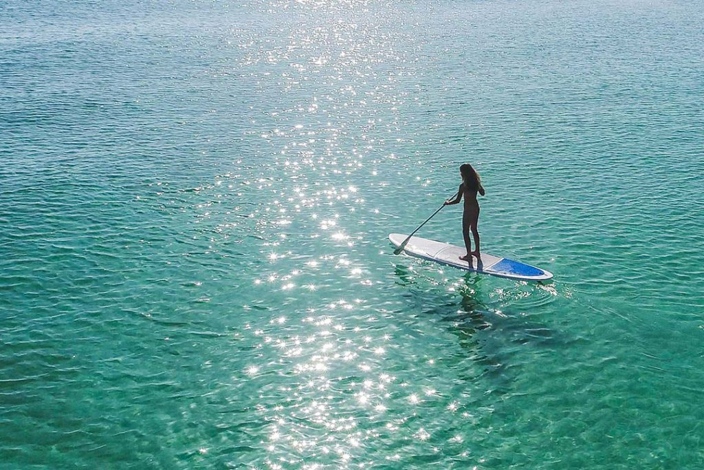 Stand up paddle indonesia